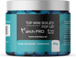 """TOP BOILIES Kulki POP UP BUBBLEGUM 8mm/20 MatchPro"""