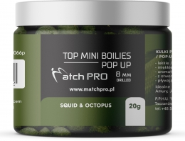 """TOP BOILIES Kulki POP UP SQUID OCTOPUS 8mm/20 MatchPro"""