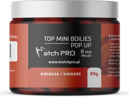 """TOP BOILIES Kulki POP UP SAUSSAGE 8mm/20g MatchPro"""