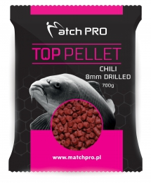 """CHILI 8mm DRILLED Pellet MatchPro 700g"""